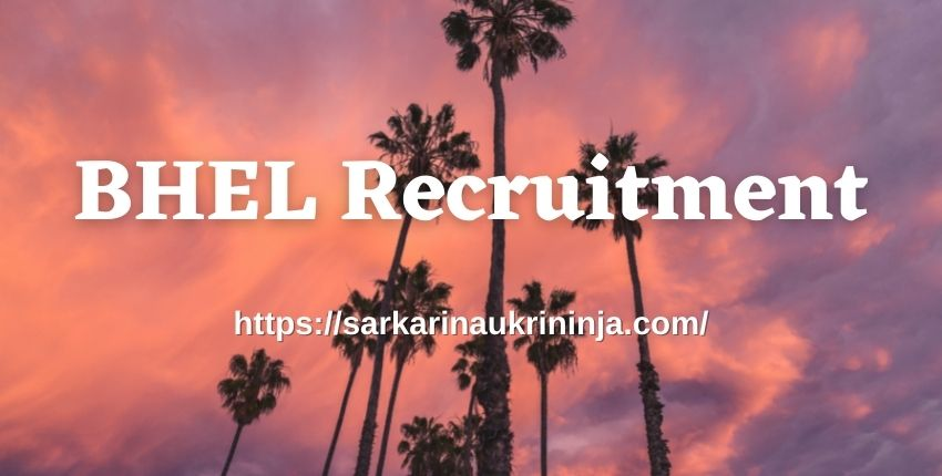 You are currently viewing BHEL Recruitment 2021   Fill Application Form For 15 Medical Consultant Posts, Apply Now