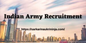 Read more about the article Indian Army Recruitment 2021 | 87 Indian Army SSC Technical Online Form, Apply Now