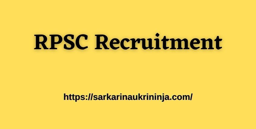 You are currently viewing RPSC Recruitment 2021: Apply Online For Rajasthan PSC 83 Head Master Bharti @ rpsc.rajasthan.gov.in