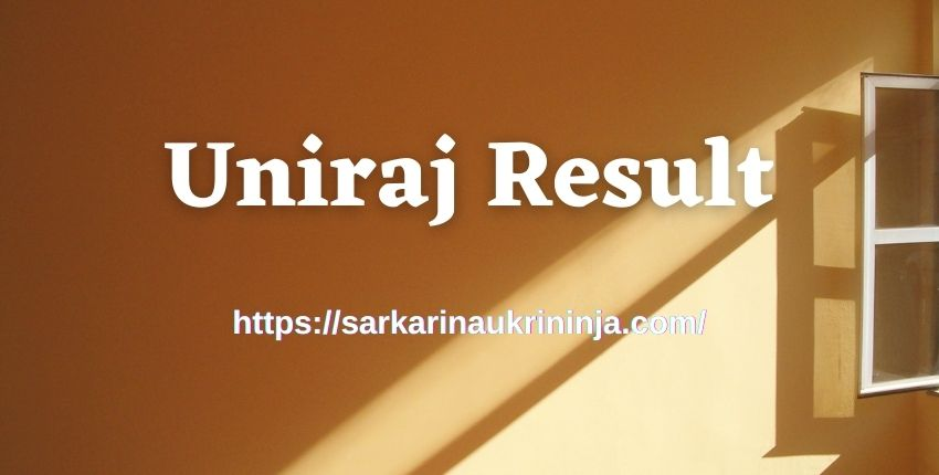 You are currently viewing Download Uniraj Result 2021 – Rajasthan University UG PG Result Name Wise at result.uniraj.ac.in