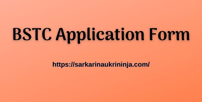 You are currently viewing BSTC Application Form 2021 – Rajasthan BSTC Online Form, Exam Date, Application Fees