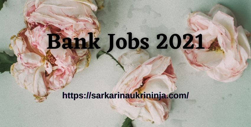 Read more about the article Get Bank Jobs 2021 Notification | Apply For Latest Bank Jobs 2021 For Freshers, Graduates, 12th Pass, Engineers And Experienced List
