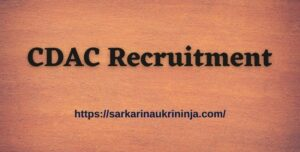 Read more about the article CDAC Recruitment 2021 | Online Apply For CDAC Mumbai 51 Project Engineer Jobs @ cdac.in