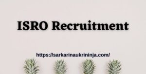 Read more about the article ISRO LPSC Recruitment 2021 | 10th pass candidates can apply for Light Vehicle Driver, Cook,& Other Posts, Apply Now