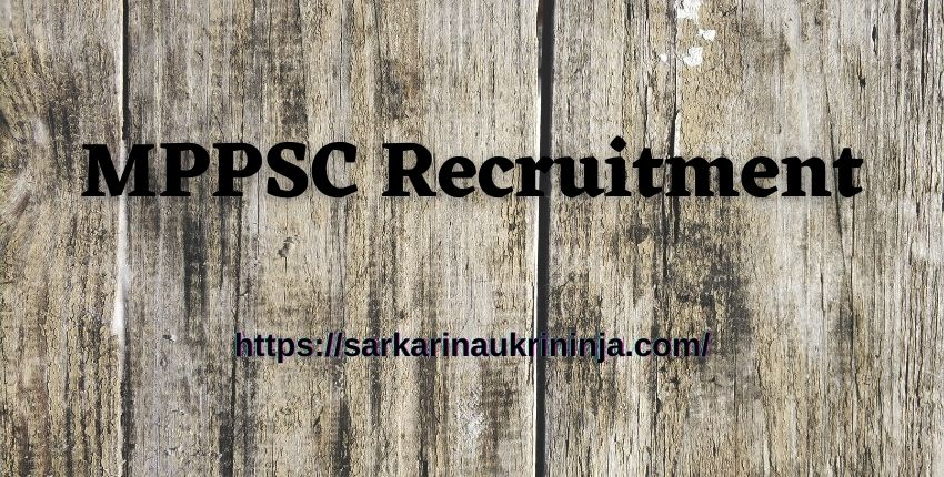 Read more about the article MPPSC Recruitment 2021 | Online Form, Eligibility Criteria For 129 Veterinary Assistant Surgeon Jobs