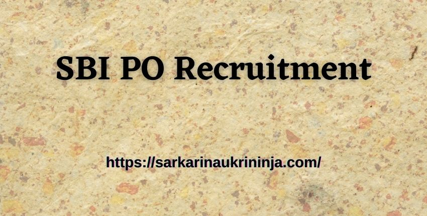 Read more about the article SBI PO Recruitment Notification 2021 Out! Apply Online for 2056 Probationary Officer (PO) Jobs