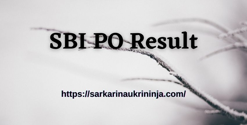 You are currently viewing Check SBI PO Result 2021 for Prelims – State Bank of India PO Prelims Result Download Now