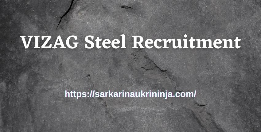 You are currently viewing Vizag Steel Recruitment 2021: Apply Online For 319 Trade Apprentice Jobs