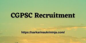 Read more about the article CGPSC Recruitment 2021 – Chhattisgarh psc.cg.gov.in various Librarian & Sports Officer posts
