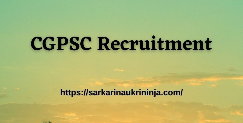 You are currently viewing CGPSC Recruitment 2021 – Chhattisgarh psc.cg.gov.in various Librarian & Sports Officer posts