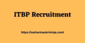 Read more about the article ITBP Recruitment 2021 : Online Apply For 553 Medical Officer & Other Vacancies