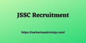 Read more about the article JSSC Recruitment 2021: Apply Online For 2808 LDC, Panchayat Secretary and Stenographer Vacancies.