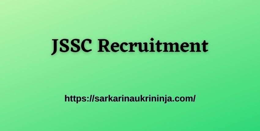 You are currently viewing JSSC Recruitment 2021: Apply Online For 2808 LDC, Panchayat Secretary and Stenographer Vacancies.