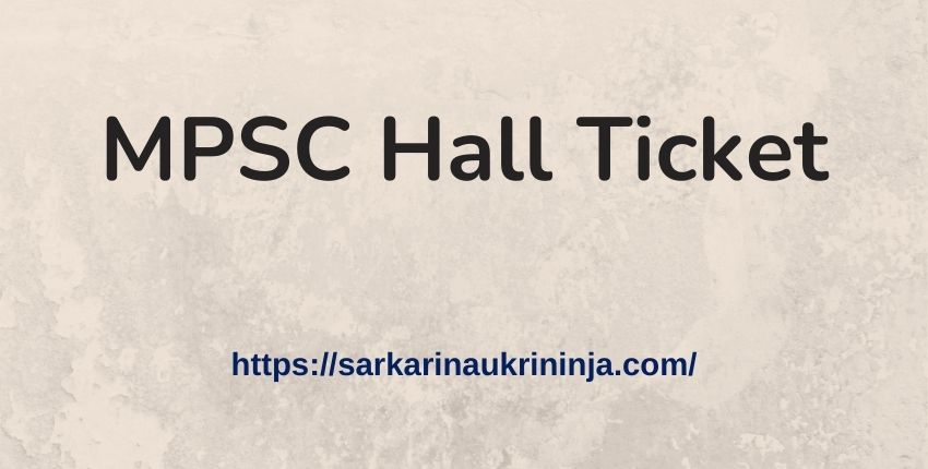 Read more about the article MPSC Hall Ticket 2021: Download Maharashtra PSC LDO Exam Admit Card @ mpsc.gov.in
