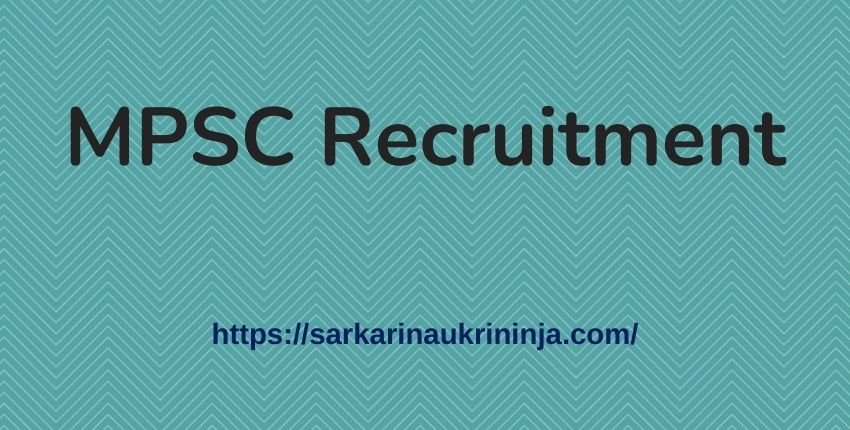 Read more about the article MPSC Recruitment 2021   Apply Online For Maha PSC Tax Assistant, SI & Clerk-Typist Posts