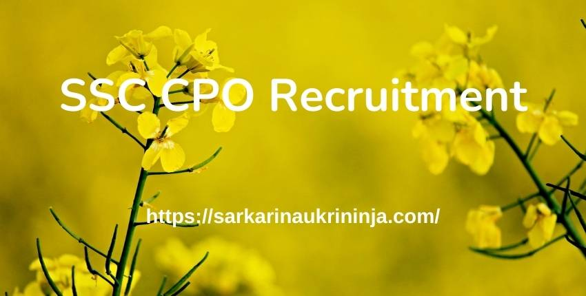 Read more about the article SSC CPO Recruitment 2021 – 2000+ Jobs Of SI In Delhi Police, CAPF & ASI In CISF