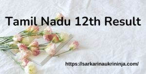 Read more about the article Download Tamil Nadu 12th Result 2021 – TN 12th Result Roll No Wise Available @ tnresults.nic.in By 19.07.2021