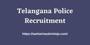 Read more about the article Telangana Police Recruitment 2021 Available for TSLPRB Sub Inspector Jobs Apply Online