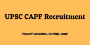 Read more about the article UPSC CAPF Recruitment 2021 Notification Out For 159 Assistant Commandants (AC) Posts- Apply Online