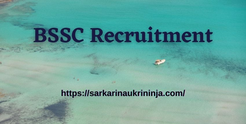 You are currently viewing BSSC Recruitment 2021   Online Form, Eligibility Criteria For Bihar SSC Stenographer Posts