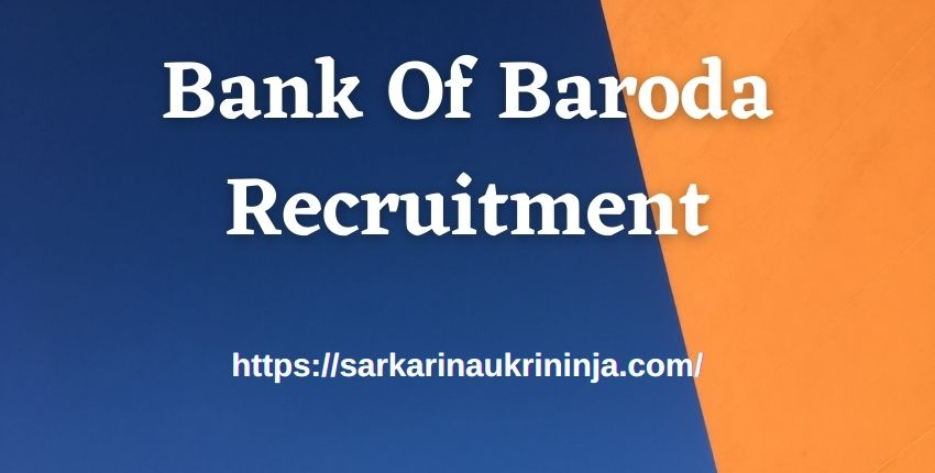 You are currently viewing Bank Of Baroda Recruitment 2021, Online Form For BOB Data Analyst, Data Manager Jobs