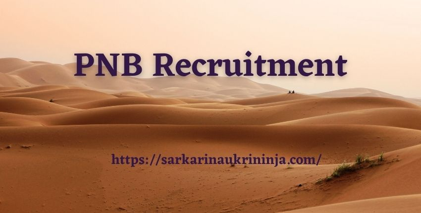 Read more about the article PNB Recruitment 2021 – Apply Online for Punjab National Bank various Officer (IT) & Sr. Manager Jobs