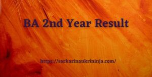 Read more about the article BA 2nd Year Result 2021 घोषित – Download BA Private & Regular Part 2 Result