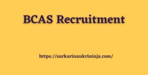 Read more about the article BCAS Recruitment 2021 | Fill Application Form For Aviation Security Officer & Other Posts