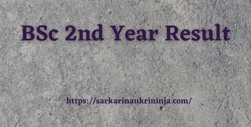 You are currently viewing BSc 2nd Year Result 2021 घोषित | Check All University Exam Result Available Here