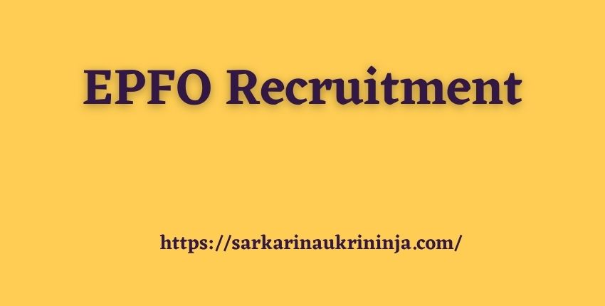 Read more about the article EPFO Recruitment 2021 | Register Online for 98 Deputy Director, Assistant Director, Assistant Audit Officer & Auditor Posts @epfindia.gov.in