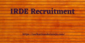 Read more about the article IRDE Recruitment 2021 : Apply Online For various Apprentices Vacancies, Check Eligibility Criteria Details