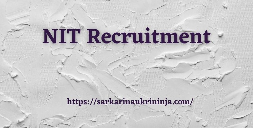 Read more about the article NIT Recruitment 2021 | Registrations For NIT Warangal 129 Non Teaching Jobs