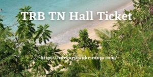 Read more about the article TRB TN Hall Ticket 2021 – Download Tamil Nadu TRB PG Assistant Admit Card