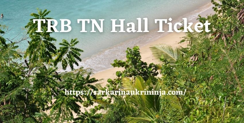 You are currently viewing TRB TN Hall Ticket 2021 – Download Tamil Nadu TRB PG Assistant Admit Card